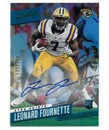 Leonard Fournette signed 2017 Panini Prestige Rookie Card (RC) #286- 122... - $78.95