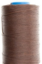 0.6mm Mid Brown Ritza 25 Tiger Wax Thread For Hand Sewing. 25 - 125m length (75m - $15.67