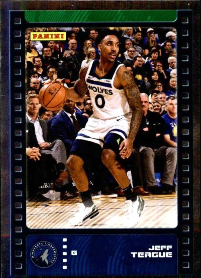 Primary image for 2019-20 Panini NBA Sticker Box Standard Size Silver Foil Insert #5 Jeff Teague M