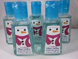 Bath & Body Works PocketBac Hand Sanitizer Set of 5  Blue Chiffon - $24.99