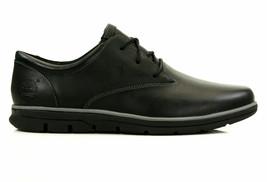 TIMBERLAND 5215A BRADSTREET MEN'S BLACK Sensorflex lightweight LEATHER S... - $80.09