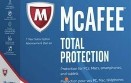Mc Afee Live Safe 2020 Full Version 1 Pc 10 Years Global Version E-DEL Best Deal! - $38.61