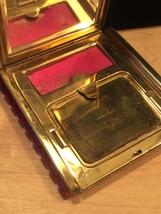 40s KLIX gold squeeze-open makeup compact image 5