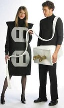 Plug Socket Set Couples Adult Costume Halloween Unique Funny Party GC7212 - $65.99
