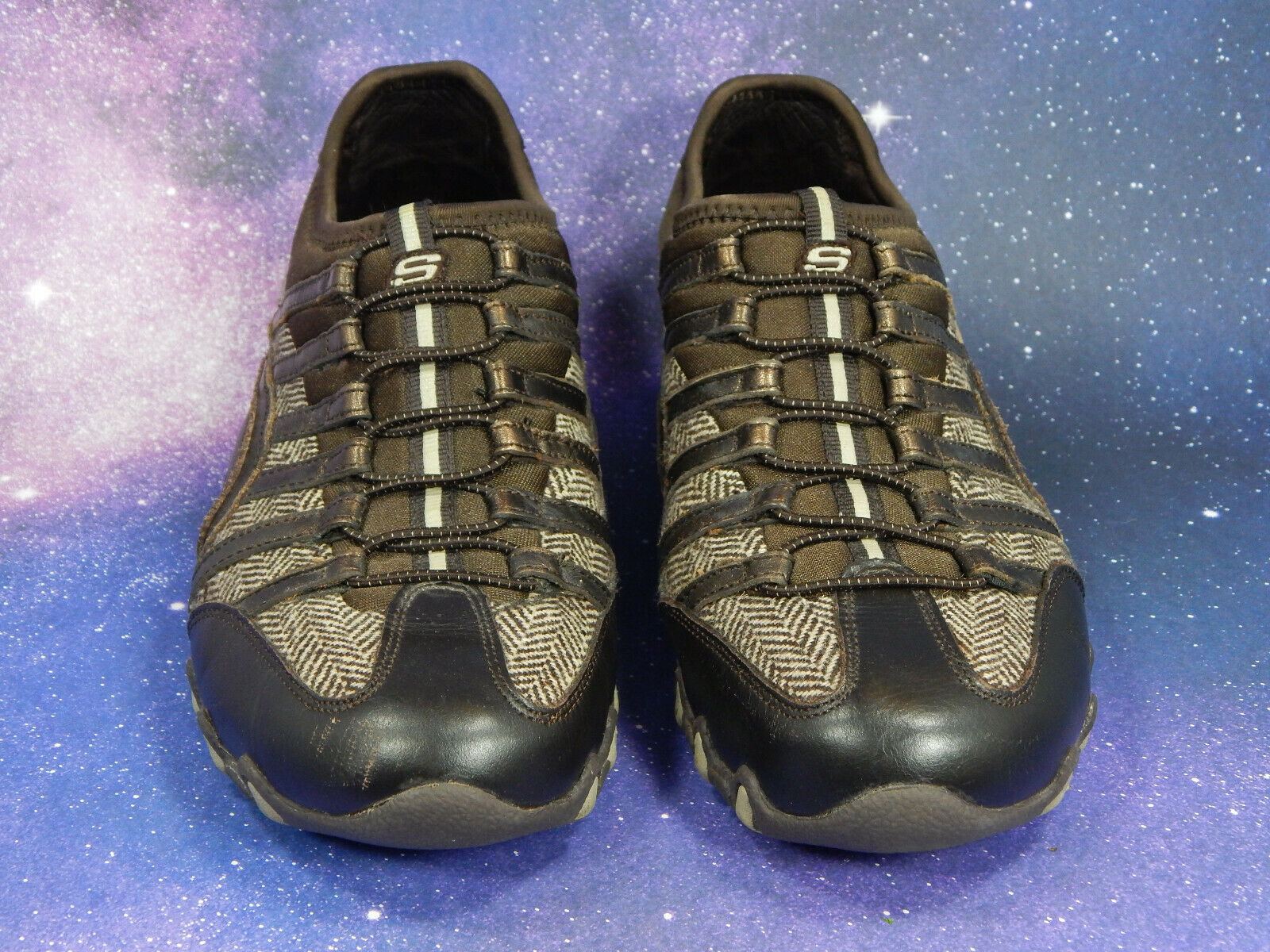 Skechers Active Slip-On Shoes/Sneakers Women's Size 7.5 SN21428 Color: CHBZ EUC! image 4