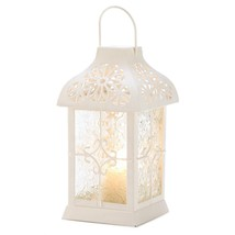 Outdoor Hanging Lantern, Daisy Gazebo Metal Decorative Floor Outdoor Lan... - $25.09