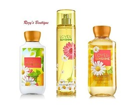 Bath & Body Works Signature Collection 'Love & Sunshine' Gift Set - Body... - $39.55