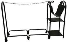 Style Selections Steel Third cord firewood rack - $82.71