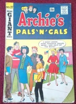 Archie's Pals and Gals #27 G Giant comic 1963 - $6.50