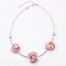 New 2016 Spring style necklace flowers iron fashion stone necklace & pen... - $15.09