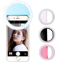 Portable Selfie Ring Flash Led Fill Light Lamp Camera Photography Video ... - €9,18 EUR