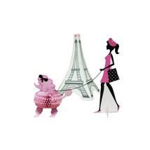 Party in Paris 3D Diecut Stand Up Centerpiece/Case of 6 - €39,34 EUR