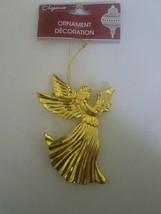 Angel Gold Ornament Christmas - $9.88