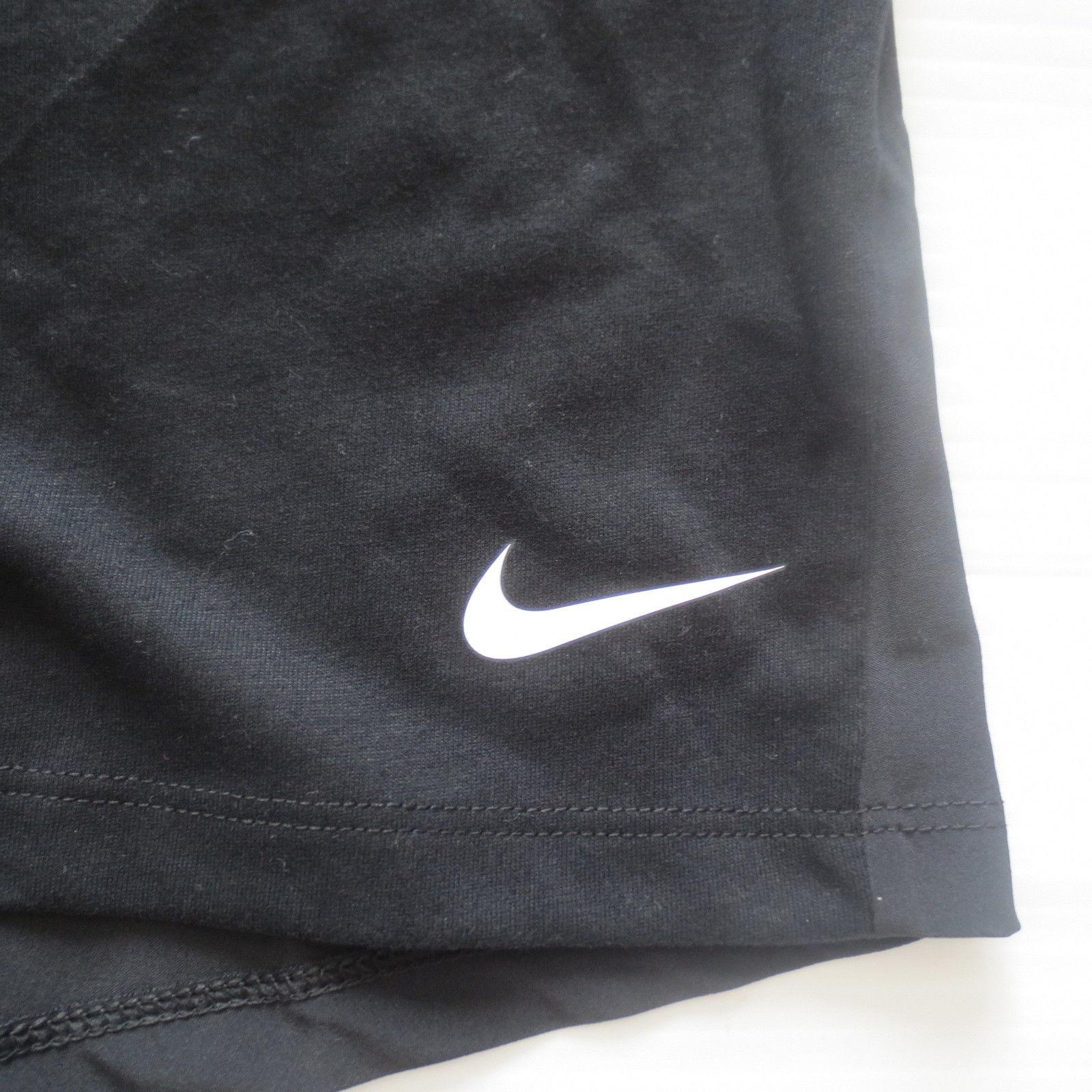 Nike Women Breathe Tank Top Shirt - 862774 - Black 010 - Size L - NWT image 2