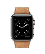 Watch Band Genuine Leather Strap Stainless For Apple Watch Series 3 2 1 ... - $36.49