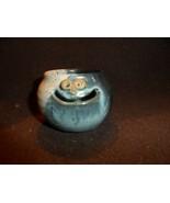 Smiley face pottery egg separator By Sylvia - $12.00