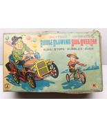 Vintage 1950's Modern Toys Boil Over Car Japan Tin Tinplate Litho Batter... - $158.94