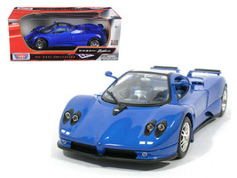 Pagani Zonda C12 Blue 1/18 Diecast Model Car by Motormax - $49.95