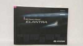 2011 Hyundai Elantra Owners Manual 73391 - $23.25