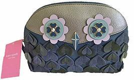 Kate Spade Medium Dome Cosmetic Owl Leather Bag, Zibbi