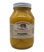 AMISH CANNED PEACHES - 16oz Pint 1-12 Jar Lot Fresh Homemade in Lancaste... - $7.89+