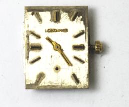 Longines 370 17J Mechanical Wind Watch Movement Running Silver Dial - $31.67