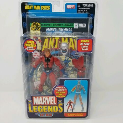 MARVEL LEGENDS ANT MAN Giant Man SERIES TOY BIZ Action Figure NIB 2006 Right Arm