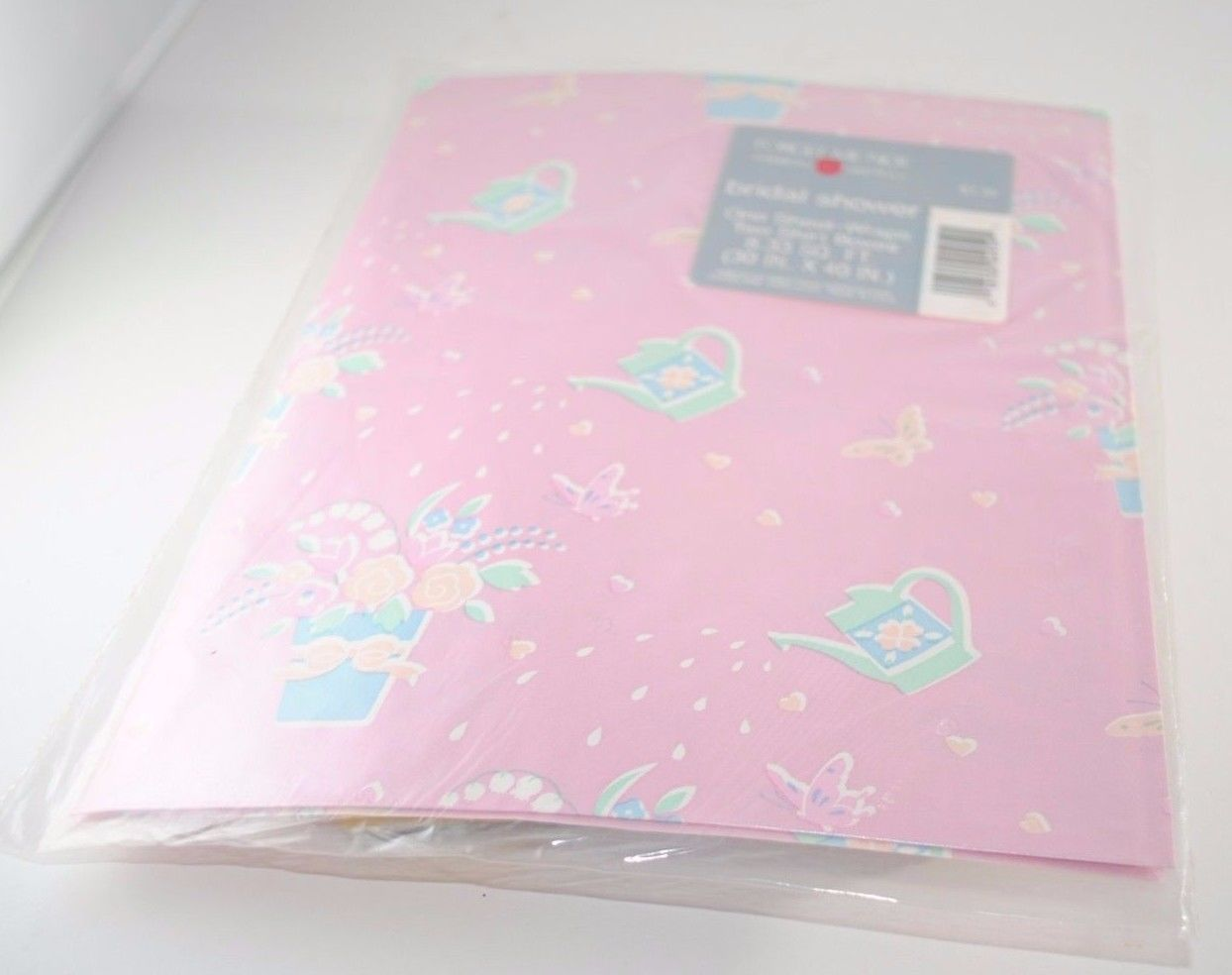 Vintage Sheet Pink Bridal Shower Gift Wrap And 12 Similar Items
