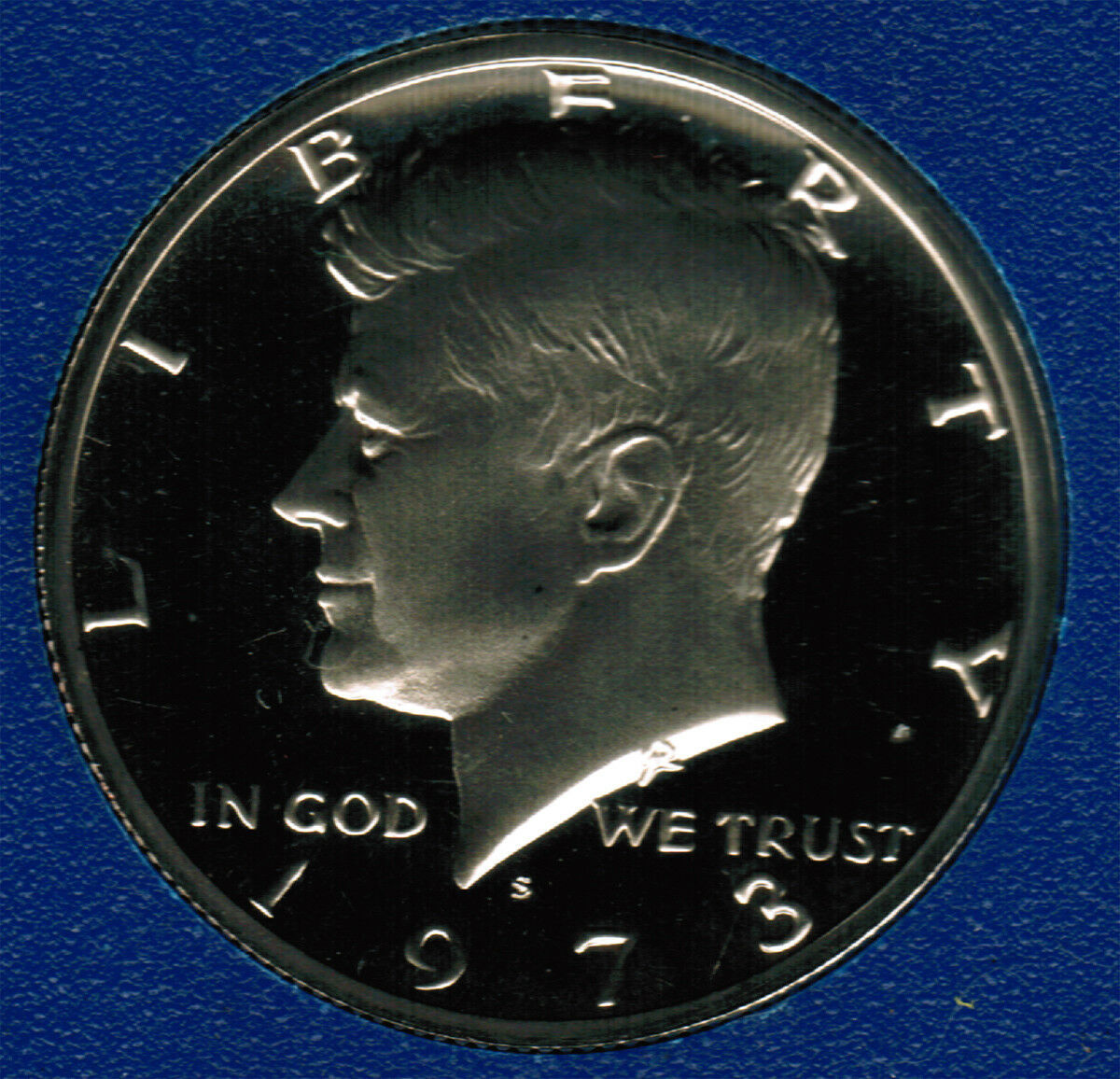 1973 S  Proof Kennedy Half Dollar CP2012