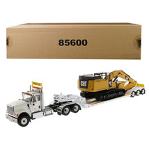 International HX520 Tandem Tractor White with XL 120 Lowboy Trailer and ... - $237.11