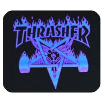 Mouse Pad Thrasher Logo Blue Skateboard Megazine Fashion Design Game Anime - $6.00