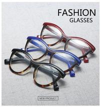 Vintage Cat Eye Glasses Frames Women Luxury Brand Designer Square Optical EyeGla image 6