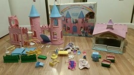 Huge My Little Pony Lot Vintage Castle, Show Stable, Accessories origina... - $198.00