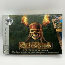 Pirates Of The Caribbean 2006 Imagination Board Game With DVD - $14.85