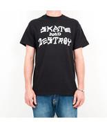 T-SHIRT UOMO THRASHER SKATE & DESTROY T-SHIRT 110103BK   Null - $31.11