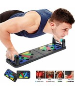 Push Ups Rack Board 14 way Comprehensive Fitness Exercise Workout Body B... - $36.99
