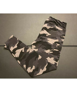 Ready To  Go Leggings Black Gray Camouflage Size 1X NWOT - $16.00