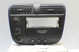 2001-05 Honda Civic LX Climate Control Module W/Air Vent Hazard Switch 1... - $107.90