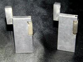 Flint Eaton Decatur Rectangle Lighters AA19-1676 Vintage Two image 1