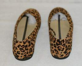 Anna Truman 1 Loepard Print Suede Womens Flats Size 7 And Half image 5