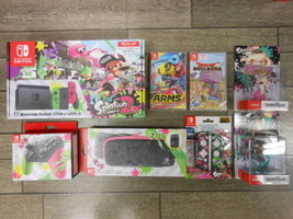 Nintendo  Nintendo switch Splatoon 2 Game console set etc. Game New Japa... - $1,331.99