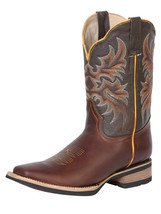 BOTA RODEO (OI19) EL GENERAL BGM207 PIEL PULL UP CHOCO ID 42451 - €87,43 EUR
