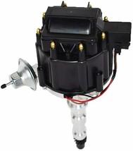 Cadillac HEI Distributor 368 425 472 500 V8 8.0mm Spark Plug Kit image 2