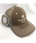 Commerce Bank Realtree Camo Baseball Cap Hat Embroidered Logo NWT Mens - $16.79