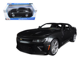 2016 Chevrolet Camaro SS Grey 1/18 Diecast Model Car by Maisto - $39.99