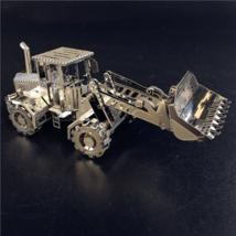 Loader Shovel Nano Small Metal 3D DIY Model Build Yourself CAT Quarry Di... - $14.99