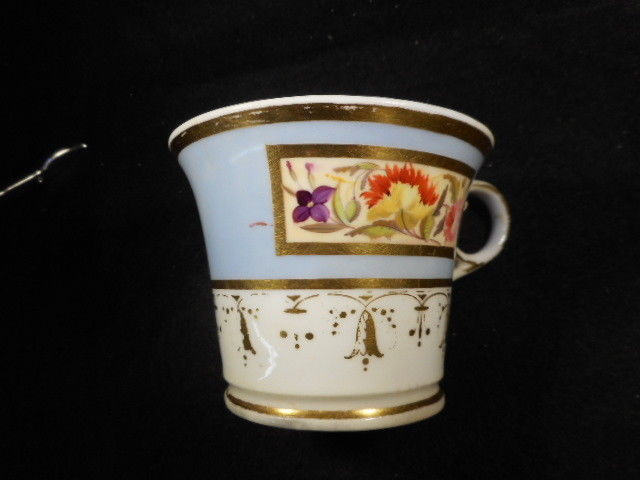 Antique Chamberlain Regent China Worcester Tea Cup and Under Plate England