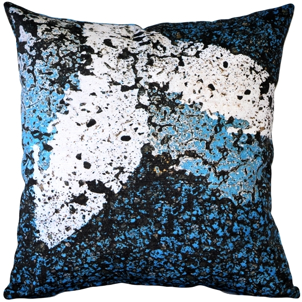 Pillow Decor - Adriatic Sea Throw Pillow 19x19