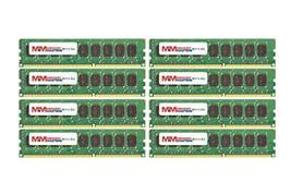 MemoryMasters 64GB (8x8GB) DDR3-1333MHz PC3-10600 ECC UDIMM 2Rx8 1.35V Unbuffere - $281.16