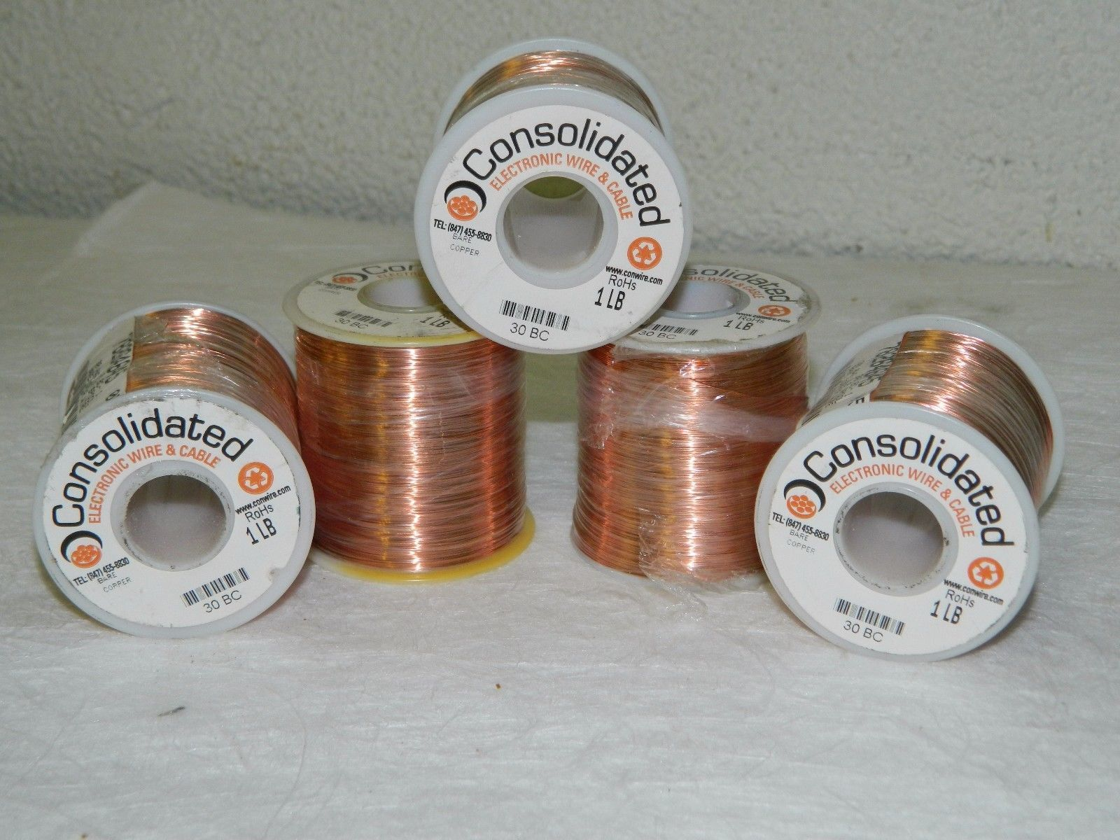 Consolidated Solid Grounding Wire 30 AWG and similar items